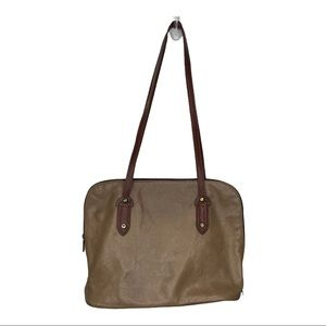 Vera Pelle Leather Made in Italy Shoulder Bag